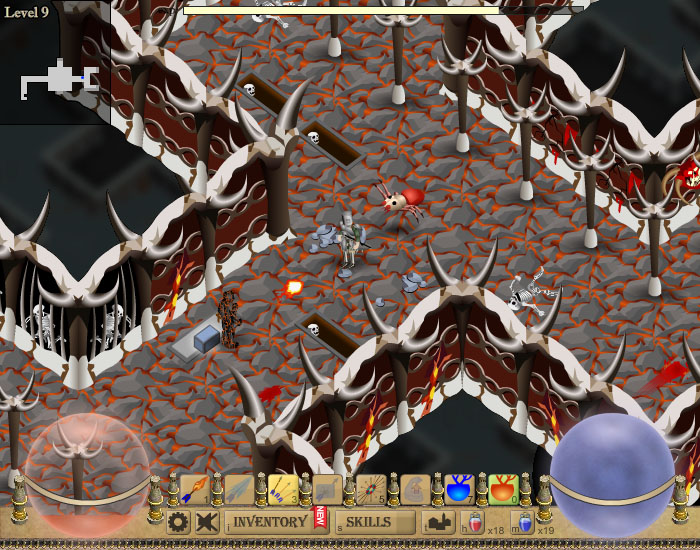 screenshot of Forgotten Dungeon 2