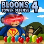 Screenshot of Bloons Tower Defense 4