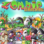 Screenshot of Marching Zombies