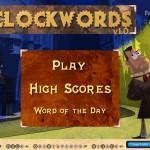 Screenshot of Clockwords: Prelude